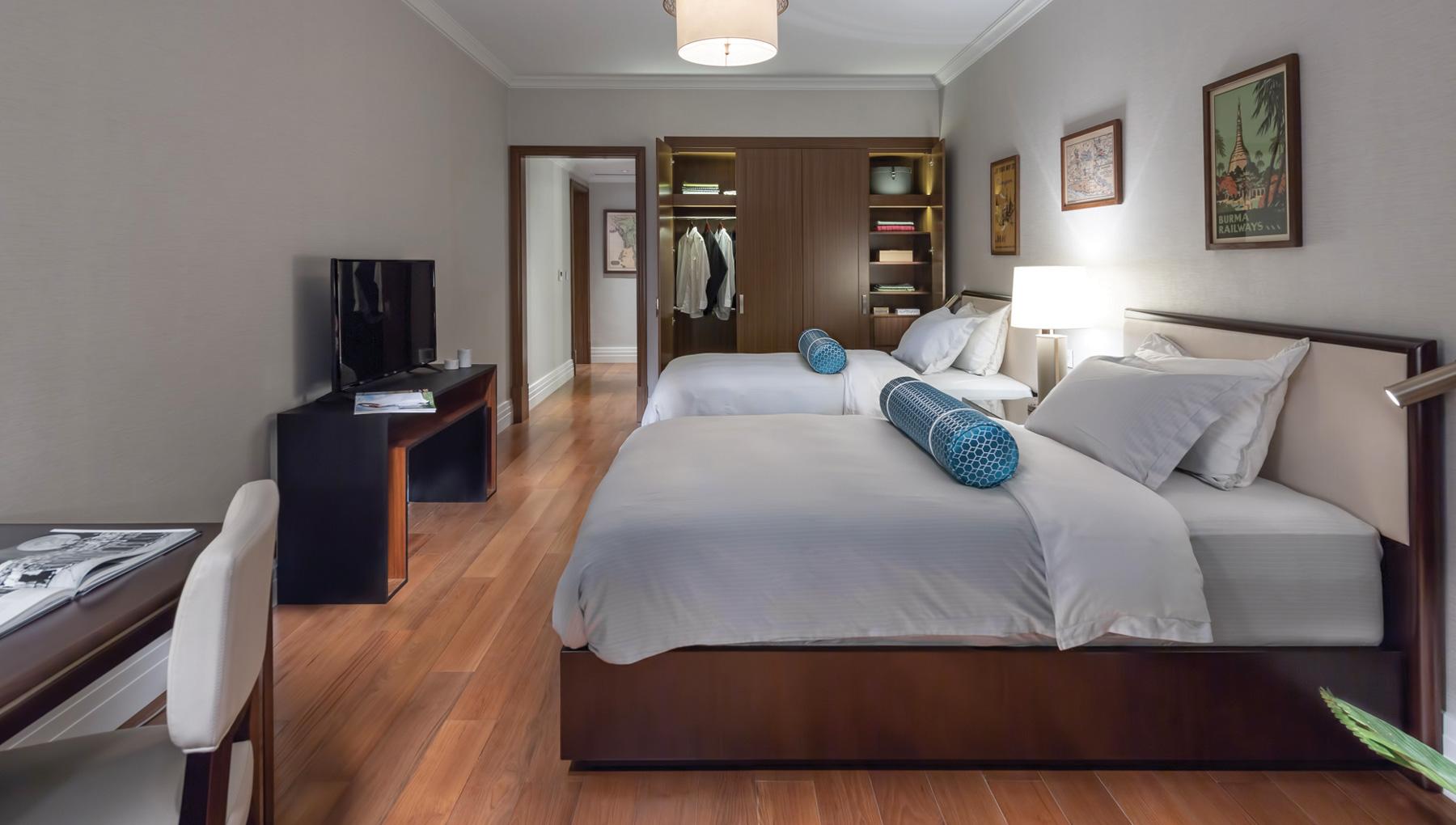 The Peninsula Residences Yangon Interior Bedroom