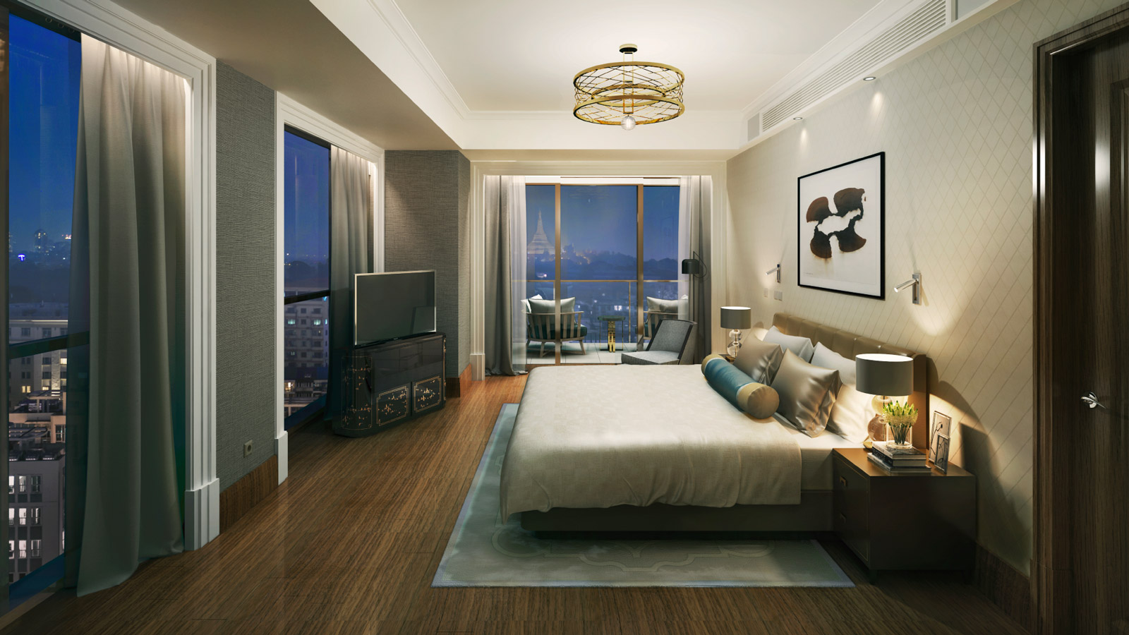 The Peninsula Residences Yangon 4 Bedrooms