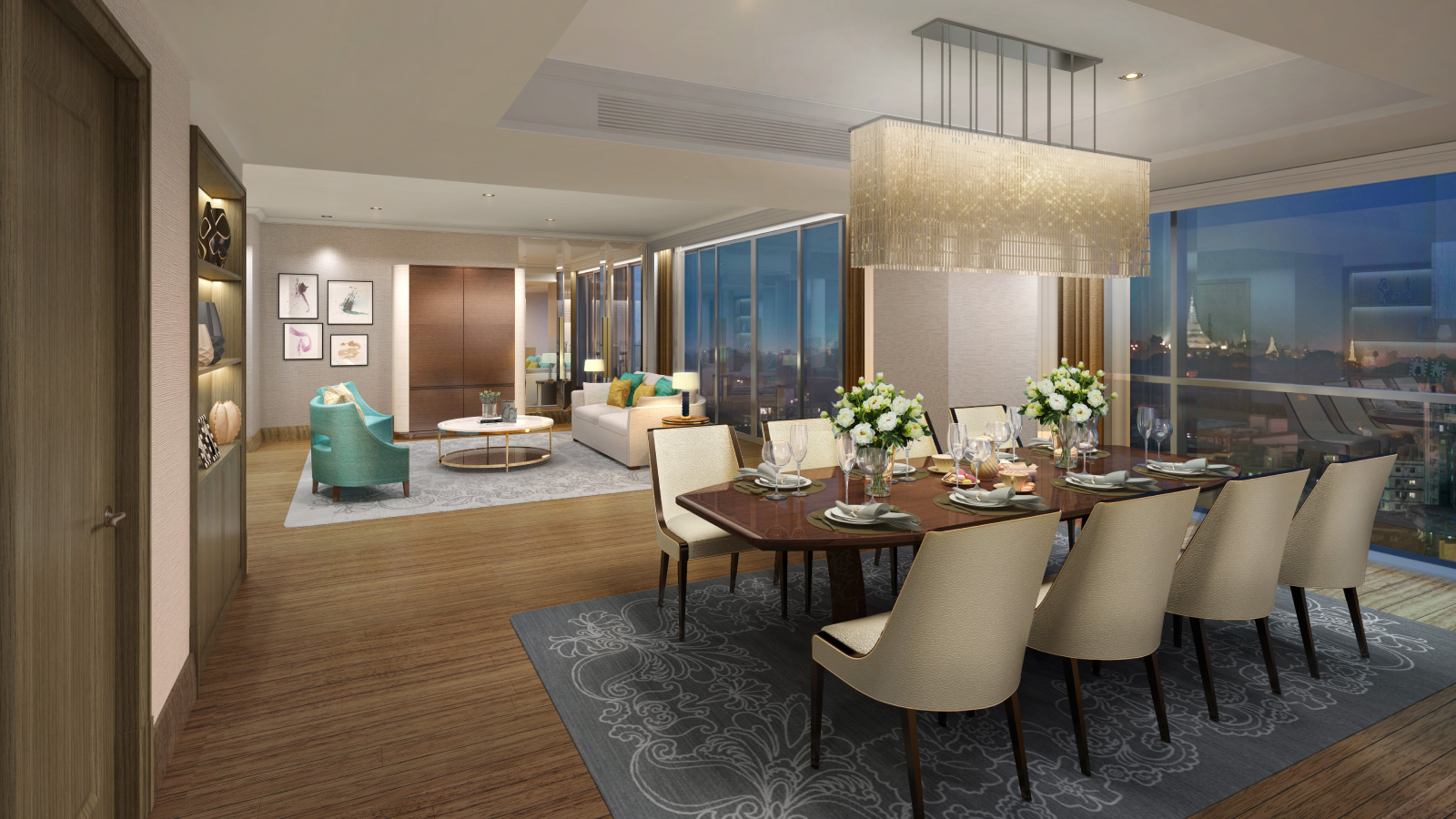 The Peninsula Residences Yangon Interior