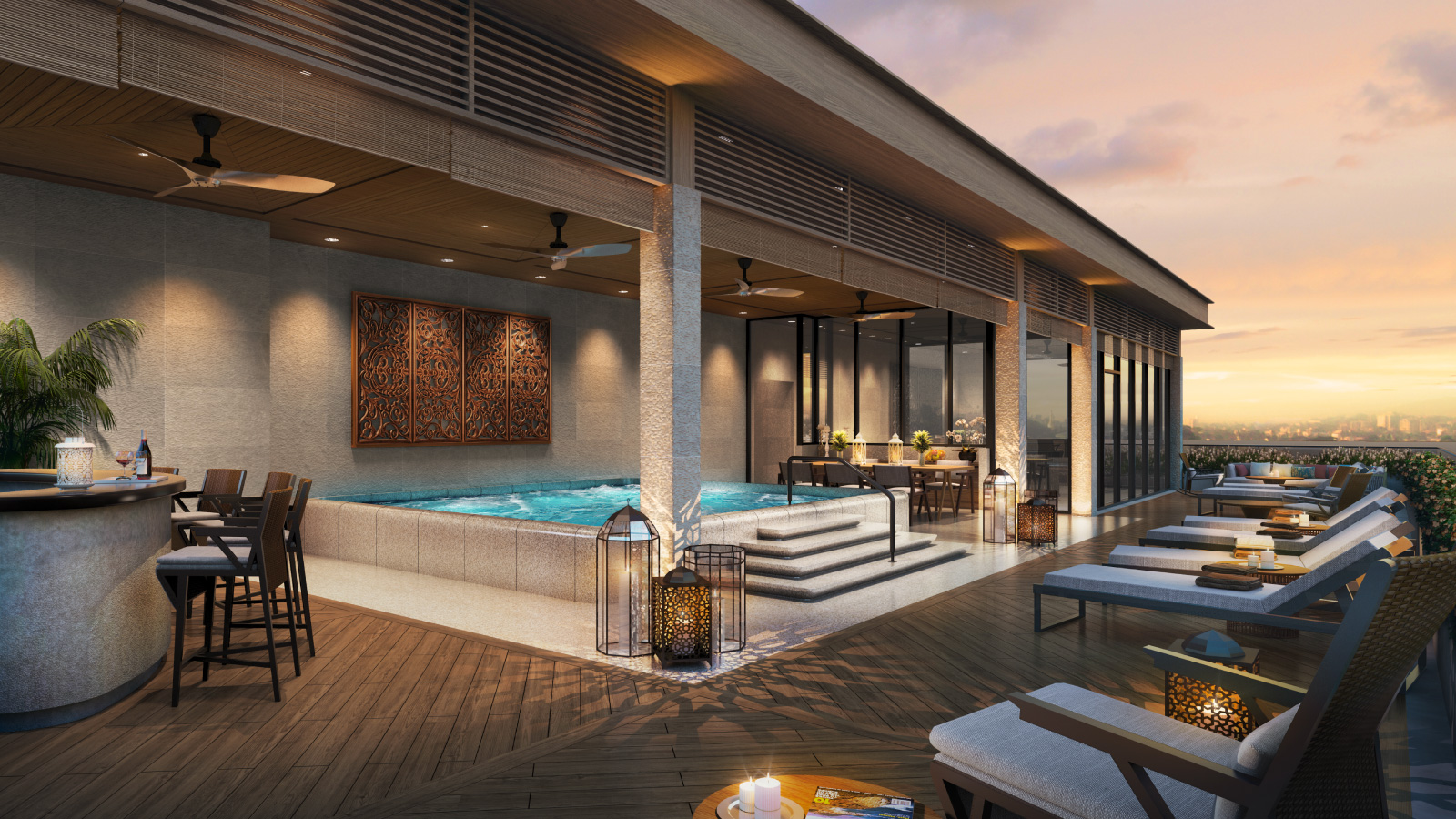 The Peninsula Residences Yangon Terrace Penthouse Exterior